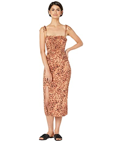 Free People Show Stopper Midi (Brown Combo) Women