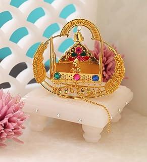 Itiha Golden Chain Balgopal Jhula Showpiece Lord Krishna Mur