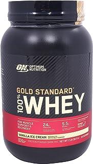 Optimum Nutrition Gold Standard 100% Whey, Vanilla Ice Cream - 2 lbs