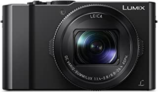 Panasonic Lumix DMC-LX15 - Cámara Compacta Premium de 20.9 MP (Sensor de 1 Objetivo F1.4-F2.8 de 24-72 mm Zoom de 3X Pantalla Abatible 4K WiFiRaw) Color Negro