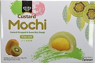 Japanese Custard Mochi - Kiwi Fruit - Japanese Mochi 168g