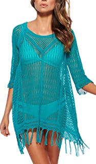Beach Tops Sexy Perspective Cover Dresses Bikini Cover-ups Net Coverups