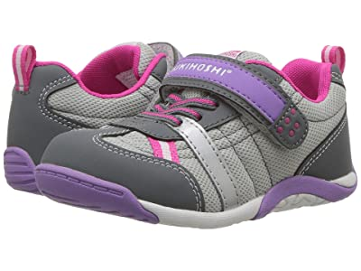 Tsukihoshi Kids Kaz (Toddler/Little Kid) (Gray/Purple) Girl