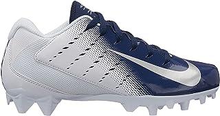 Nike Kids Vapor Varsity 3 Football Cleats (6, White/Navy)