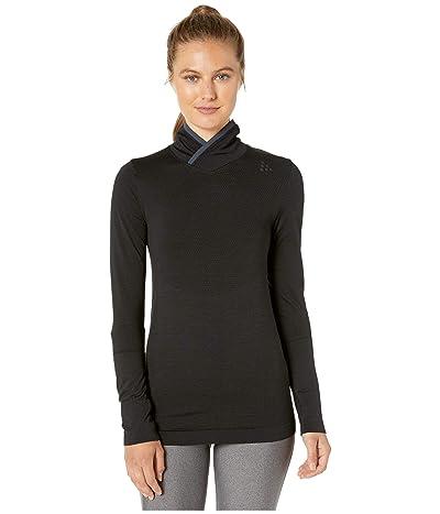 Craft Fuseknit Comfort Wrap Long Sleeve (Black) Women