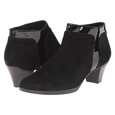 Munro Hope (Black Suede/Patent) High Heels