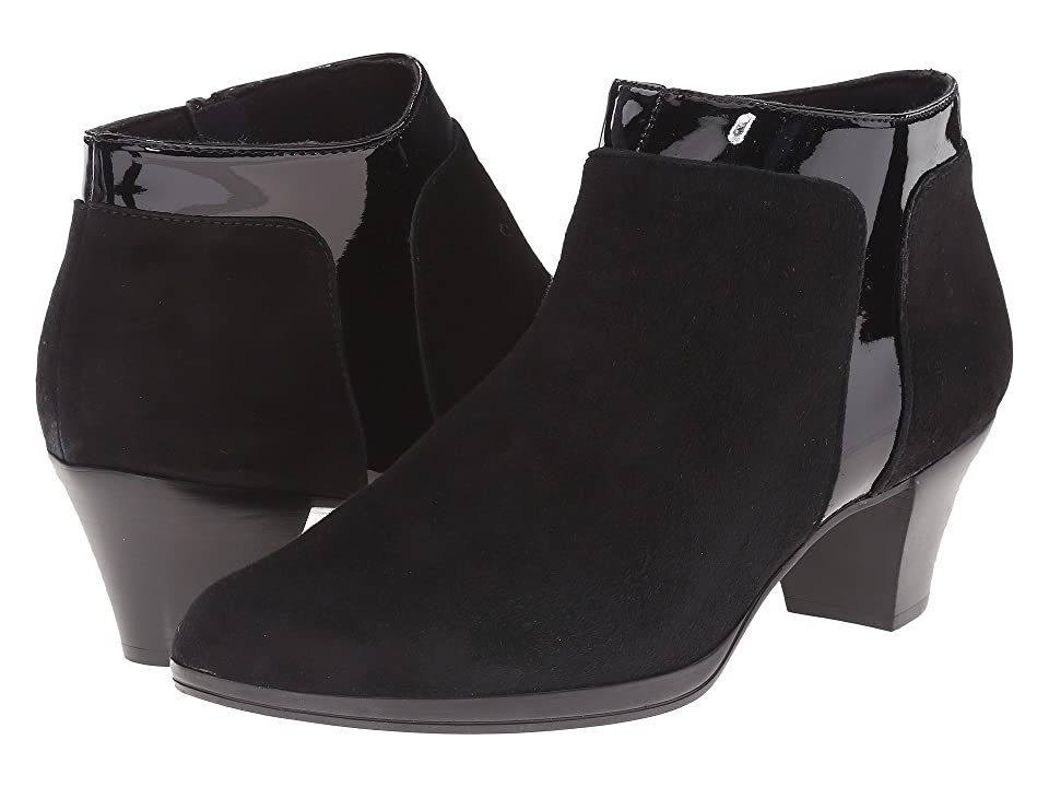 Munro Hope (Black Suede/Patent) High Heels