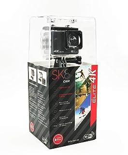 SK8 CAM Elite 4K- Cámara de acción 4K con Sensor CMOS Color Negro