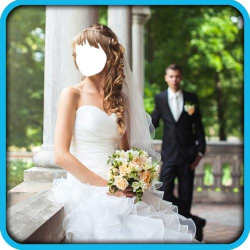 Paar Hochzeitsfoto Montage