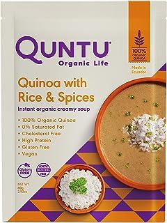 Sponsored Ad - Quntu Quinoa Instant Creamy Rice and Spices Soup | Gluten Free, Vegan, and Non-GMO | 2.82 oz per packaging,...
