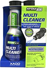 XADO Atomex Multi Cleaner - Fuel System Cleaner Injector Cleaner | Treats 10-15gal. of Gasoline Fuel - Cleans Injector Nozzles, Inlet Valves and Combustion Chamber (Bottle, 250ml) (Gasoline)