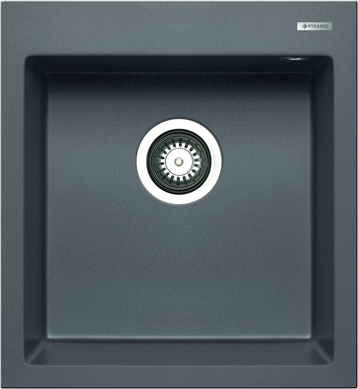 Pyramis istros 1B Sink Pyragranite, grey, 070044212
