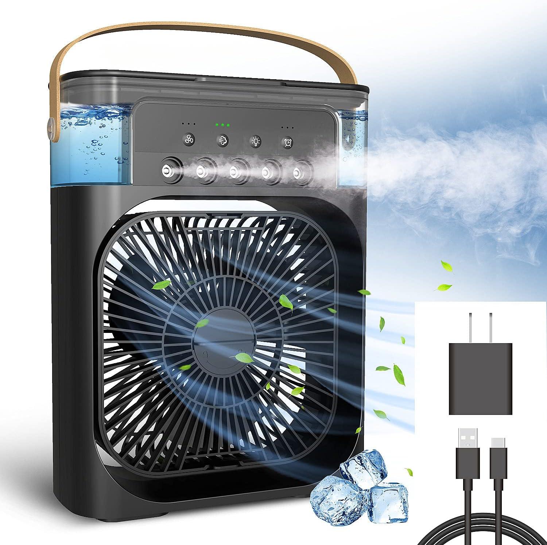 Personal Air Conditioner Charlotte Mall NTMY Desk Max 67% OFF Fan Portable