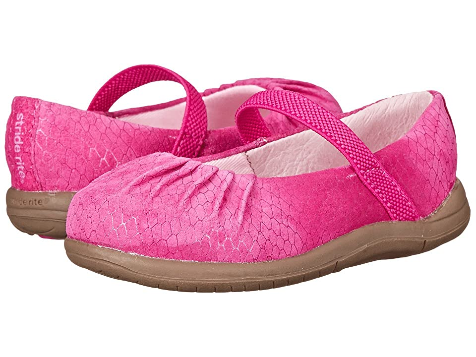 Stride Rite SRT Cassie (Toddler) (Pink) Girls Shoes