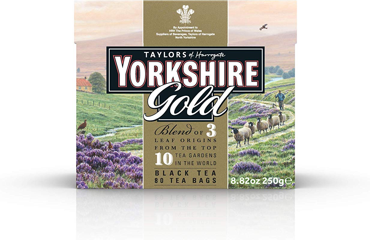 Taylors Of Harrogate Yorkshire Gold 80 Teabags