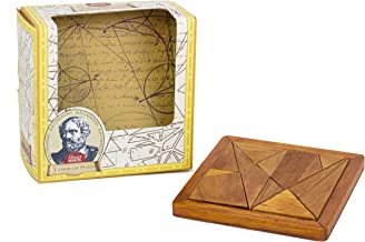 Professor Puzzle Great Minds Archimedes' Tangram Brain Teaser Puzzle 3D metal puzzles / brain teaser toy to develop problem solving skills
