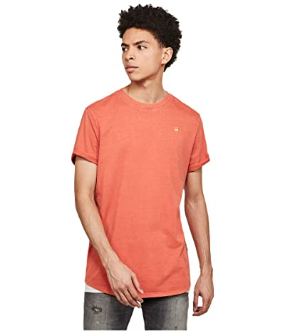 G-Star Lash Round Neck T-Shirt (Langoustino Pink) Men