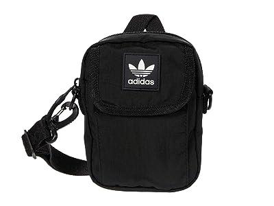 adidas Originals Originals National Festival Crossbody (Black) Handbags