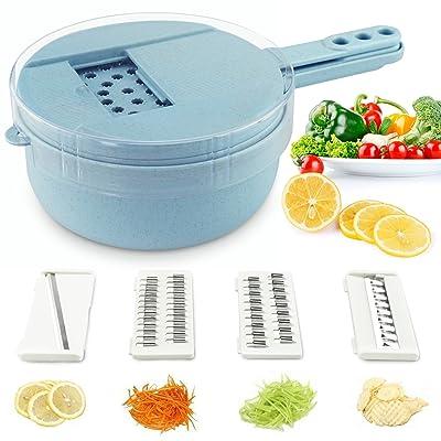 Soogoo Vegetable Slicer, kitchen Mandoline Slic...
