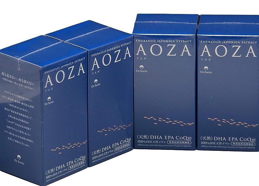 させる脆いお母さんドクタースマイル AOZA アオザ 300粒×4個セット
