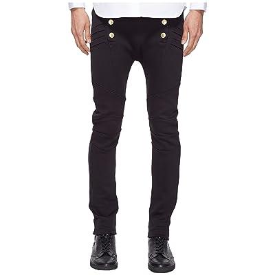 Pierre Balmain Military Sweatpants (Black) Men