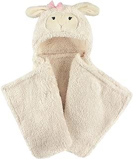 Hudson Baby Unisex Baby and Toddler Hooded Plush Blanket, Lamb, One Size