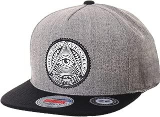 WIM Gorras de béisbol Gorra de Trucker Sombrero de Snapback Hat Illuminati Patch Hip Hop Baseball Cap AL2344