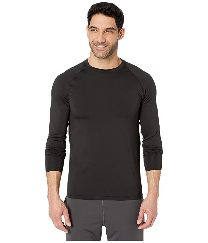 Jockey Active Long Sleeve Sport Top (Black) Men