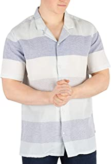 Levi's Men's Cubano Shortsleeved Shirt, Blue