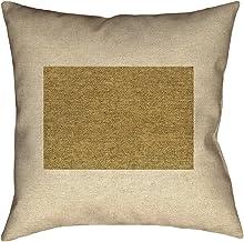 ArtVerse Katelyn Smith 40.64 سم × 40.64 سم للاستخدام الداخلي والخارجي، وسادة قماشية مقاومة للماء والعفن