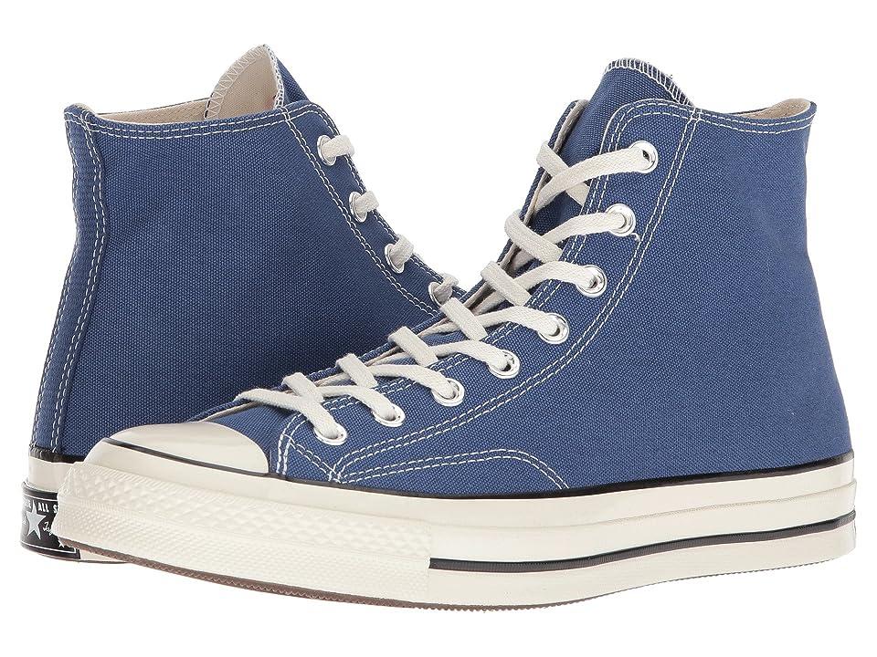 Converse Chuck Taylor(r) All Star(r) '70 Hi (True Navy/Black/Egret) Athletic Shoes