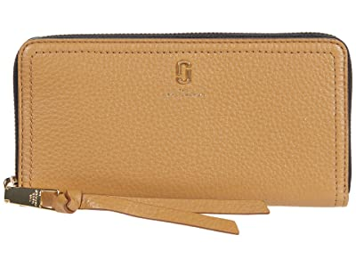 Marc Jacobs Standard Continental Wallet (Dirty Chai) Wallet Handbags