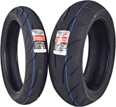 Full Bore F2 Tire Set Tires (1 Front 120/70ZR17 & 1 Rear 190/55ZR17) 120/70-17 190/55-17
