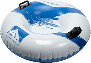 Franklin Sports Arctic Trails Snow Tube Snow Sled – Snow Rider- Inflatable Sled-..
