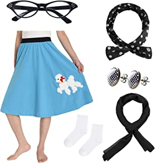 Best 50 poodle skirt costume Reviews
