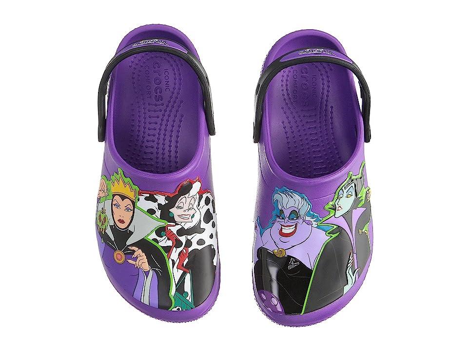 Crocs Kids Fun Lab Disney Villain Clog (Toddler/Little Kid) (Amethyst) Girls Shoes
