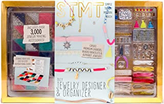 STMT Ultimate DIY Jewelry Set by Horizon Group Usa, Create Choker Necklaces, Beaded Bracelets & Alphabet Jewelry. Over 300...