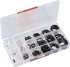 Werkzeyt B34151 Veiligheidsringen, 300-delig, voor buiten, diverse maten in een set (3 - 32 mm), voorgesorteerd in een pra...