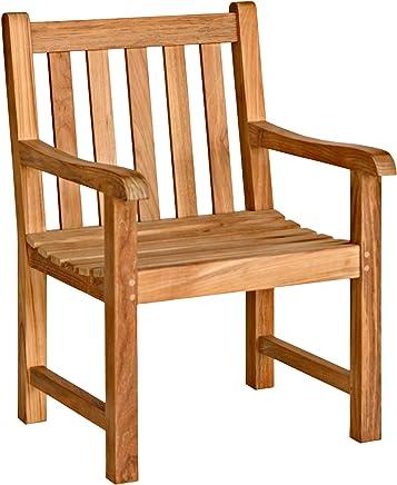 Three Birds 经典经典款扶手椅,柚木色