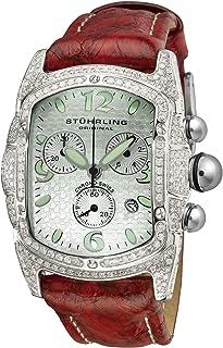 ساعة ستاهرلنغ اورجينال للنساء 74.321511FD لايف ستايلز فايرفلاي سويسرية كوارتز كرونوغراف دايموند