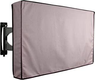 KHOMO GEAR Outdoor TV Cover - Titan Series - Universal Weatherproof Protector for 55 - 58 Inch TV - Fits Most Mounts & Brackets