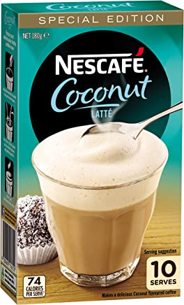 NESCAFÉ Coconut Latte, 1 pack of 10 serves