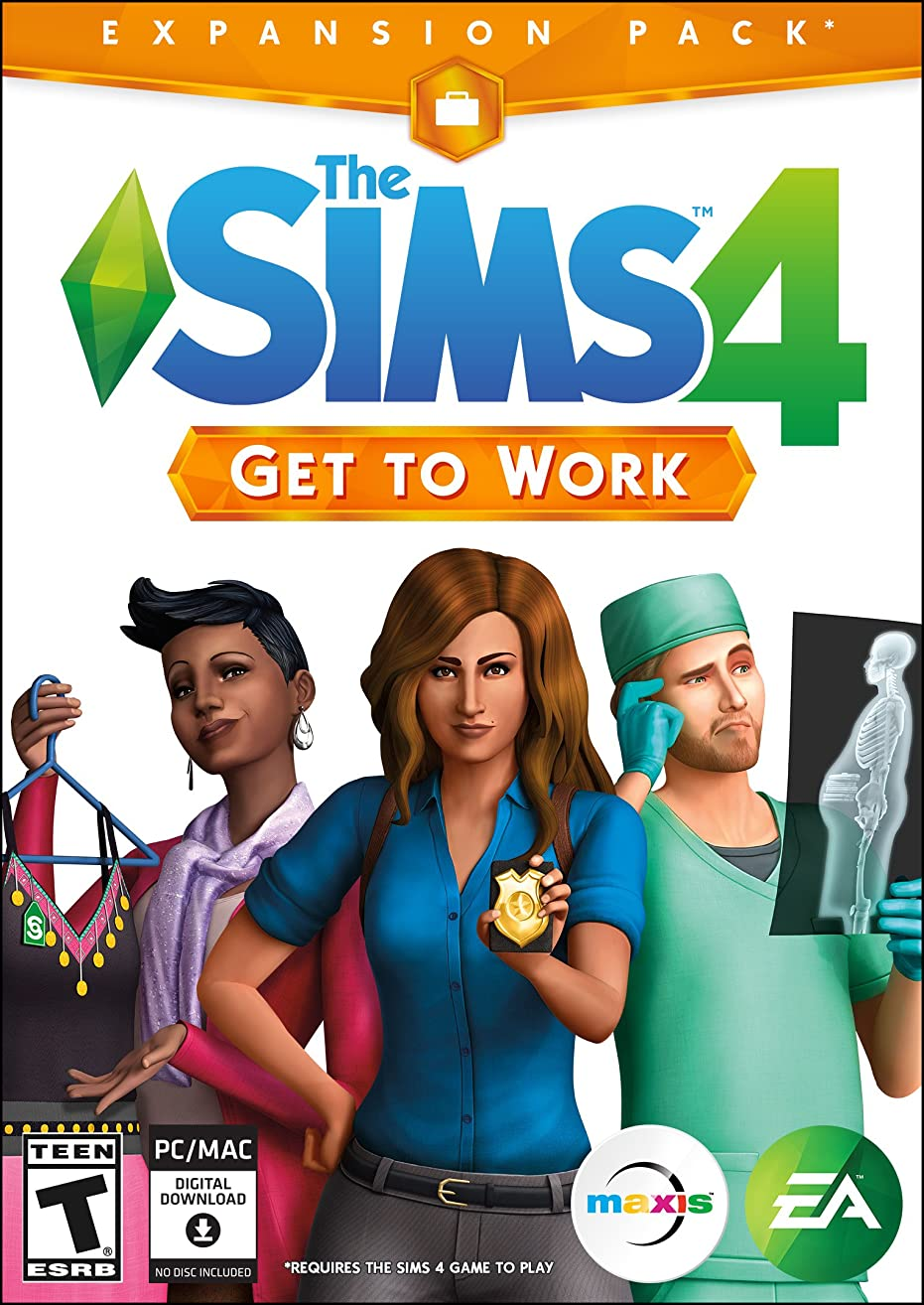 The Sims 4 Get to Work [Online Game Code]