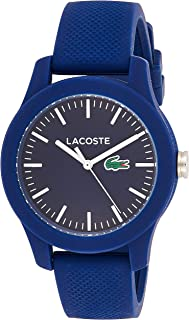 Lacoste Women's Blue Dial Silicone Band Watch - 2000955