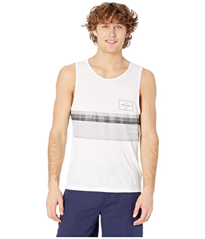 Rip Curl Rapture Surflite UV Tank (White) Men