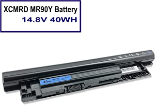 XCMRD MR90Y Battery fit for Dell Inspiron 14 15 17 14-3421 15-3521 17-3721 5421 3537 5521 5537 3721 5721 2421 2521 14R 15R 17R Series PVJ7J 49VTP YGMTN 8TT5W 9K1VP XRDW2 V1YJ7 (14.8V 40WH)