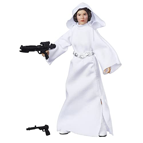 Star Wars Princess Leia With Gun Black T-Shirt