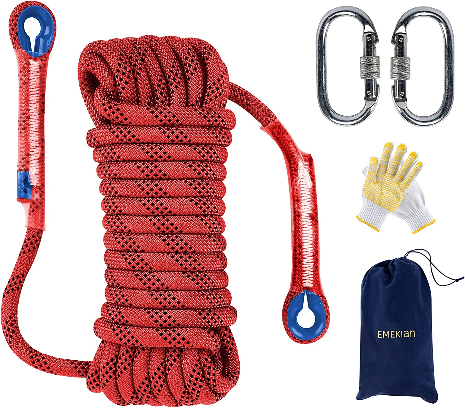 All items in the store EMEKIAN 10mm 12mm Outdoor Climbing Rope 15M Discount mail order 49ft 10M 32ft 2