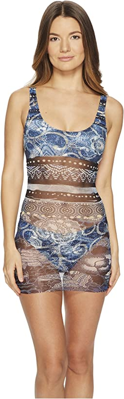 FUZZI - Takini Patchwork Swimsuit