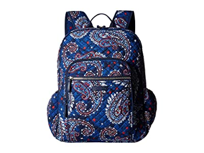 Vera Bradley Iconic Campus Backpack (Fireworks Paisley) Backpack Bags
